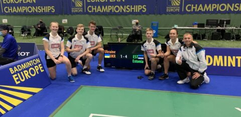 Eesti juuniorid alustasid sulgpalli EM-i väärt võiduga