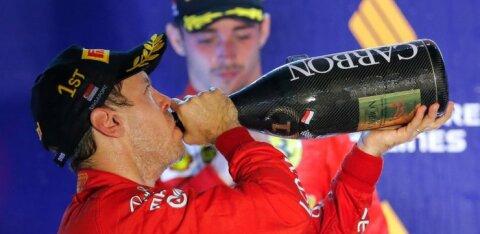 Ferrari jättis Leclerci esikohast ilma
