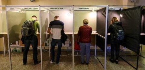 На президентских выборах в Литве лидируют Науседа и Шимоните