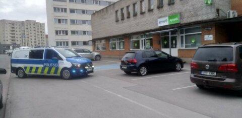 Угрожавший аптекарю в Пельгуранна мужчина до сих пор не пойман