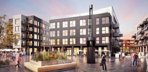 ФОТО | В Таллинне построят роскошный квартал Каларанна за 40 млн евро. На первых этапах появится 240 квартир