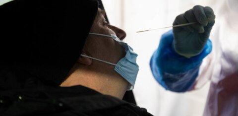 В Нарве открылся первый круглосуточный пункт тестирования на коронавирус