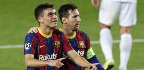 Barcelona võit Meistrite Liigas kujunes mitmes mõttes ajalooliseks