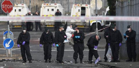 29-aastase Põhja-Iiri ajakirjaniku tapmisega seoses vahistati kaks noorukit
