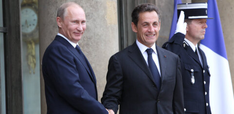 Президент без гарантии. Российский журналист проводит параллели между Путиным и осужденным Саркози