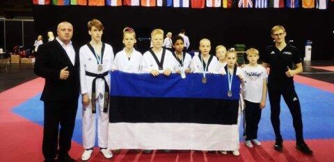 Молодые эстонские таэквондисты показали, что могут конкурировать с лучшими спортсменами Европы