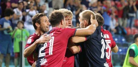 """Клаван и """"Кальяри"""" неудачно финишировали в чемпионате Италии"""