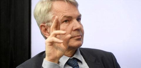 Soome välisminister Haavisto Delfile: Tiido oli suurepärane suursaadik, ent pigem on Eesti ja Soome lähedasemad kui varem