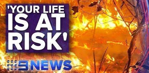 ВИДЕО: В Австралии природные пожары охватили миллион гектаров. Есть жертвы