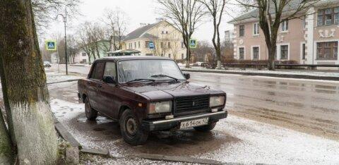 В Ивангороде ночью сгорел автомобиль