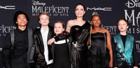 Анджелине Джоли — 45. Как она растит шестерых детей