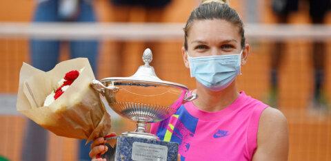 Maailma teine reket Simona Halep andis positiivse koroonaproovi