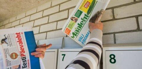 В Рийгикогу озаботились повышением цен на доставку периодики