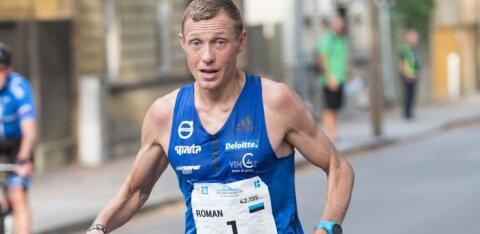 Роман Фости в третий раз выиграл забег вокруг озера Вильянди