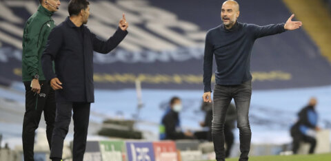 Porto peatreener Guardiolast: mul on temalt palju õppida, ta oli äärmiselt ebameeldiv