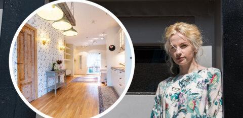 FOTOD | Nagu muinasjutust! Elina ja Andrus Purde müüvad oma hubast Kalamaja korterit