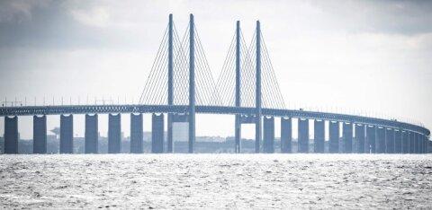 Корабль ВМФ России столкнулся с гражданским судном у берегов Дании