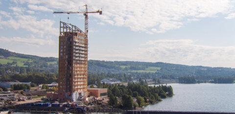 FOTOD JA VIDEO | Norras sai valmis maailma kõige kõrgem puithoone