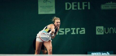 Контавейт прошла во второй круг турнира в Дубае. На очереди Канепи