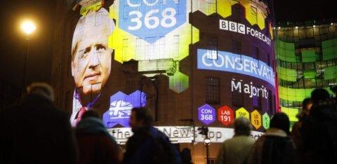 На досрочных выборах в британский парламент лидирует партия Джонсона