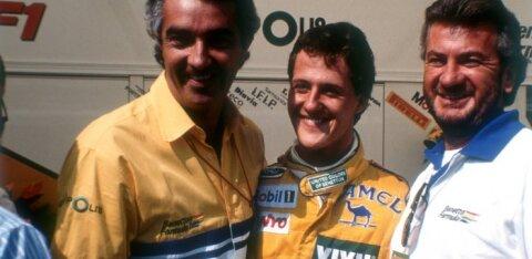 Endine vormeliboss kiitis Schumacherit: erinevalt Hamiltonist pidi tema võistlema suurte poistega