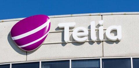 Доход от продаж Telia достиг 315 миллионов евро