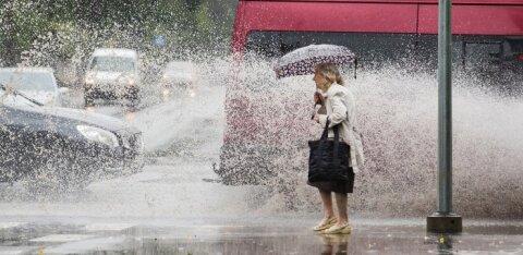 Homme tuleb vihma üle Eesti, uuel nädalal võib temperatuur langeda nullini