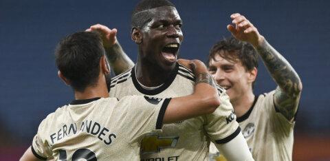 Paul Pogba sai üle pika aja jala valgeks, Manchester Unitedile tähtis võit
