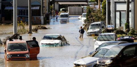 ВИДЕО: Тайфун унес в Японии свыше 50 жизней и взял в заложники эстонских фермеров