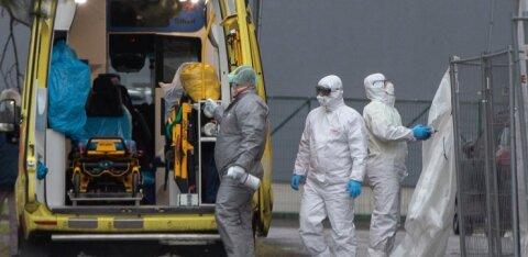 За сутки в Эстонии коронавирус выявили у 618 человек