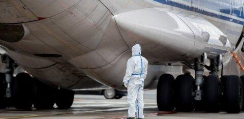 Maxima завезла в Эстонию 600 000 противопыльных масок, которые поступят в продажу