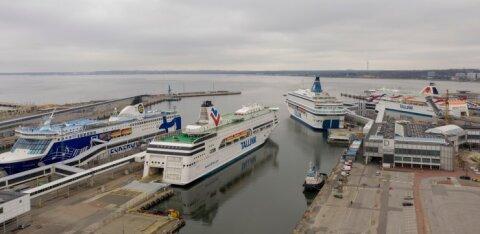 Tallinki reisijate arv juulis oli mullusega võrreldes poole väiksem