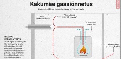 СХЕМА: Каким образом при сломанном котле угарный газ проникает в жилые помещения
