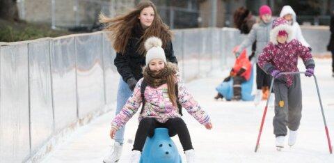 Поторопитесь! Сезон катков в Таллинне заканчивается