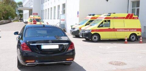 Курессаареская больница запрещает посещение пациентов