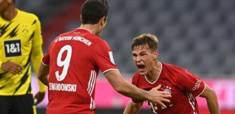 Müncheni Bayern võitis tänavuse aasta viienda karika, aga rekordi kordamine ei sõltu neist endist
