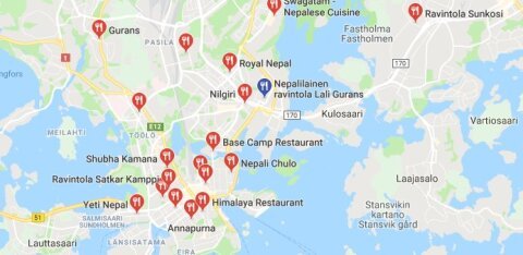 Nepaali kokad kaebavad Soomes jõhkra kohtlemise üle