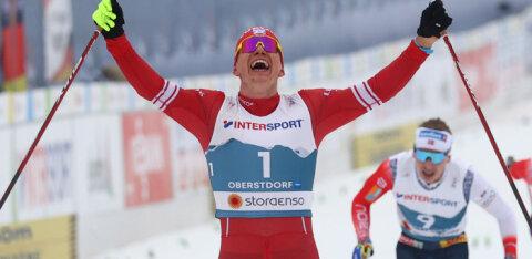 ВИДЕО: Один против пятерых. Большунов выиграл золото в скиатлоне