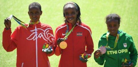 Naiste maratoni Rio olümpiahõbe jäi EPO-ga vahele, poodiumil alles vaid üks puhta mainega jooksja