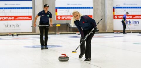 Eesti kurlingupaar alustab võistlemist maailmameistrivõistlustel