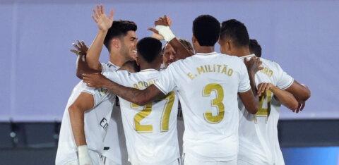 Madridi Real on kahe võidu kaugusel La Liga tiitlist