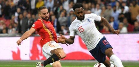 Inglismaa jalgpallikoondislane on rassismist kurnatud: politsei poolt kinnipidamine on muutunud tavaliseks