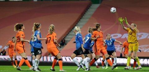 Eesti koondis kaotas võõrsil Euroopa meistrile 0:7