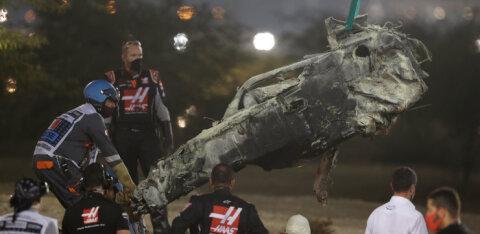 Maailmameister Grosjeani hirmuäratavast avariist: ime, et ta ellu jäi