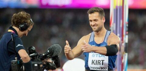Магнус Кирт установил рекорд Эстонии. Этого бы хватило для Олимпийского золота
