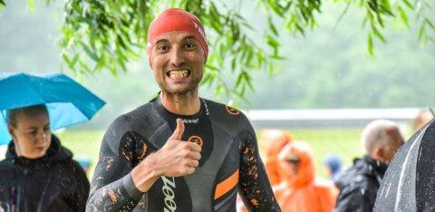 FOTOD | Märt Avandi ja Raivo E. Tamm osalesid vesisel Viljandi triatlonil
