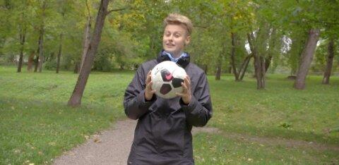VIDEO: Spordinädala patroon Inger Fridoliniga jalgpalli avastama!