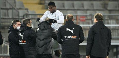 Tallinnaski mänginud Bundesliga ründaja tõmbas endale illegaalsel peol osalemisega jama kaela