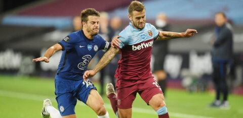 Londoni Chelsea kaotas dramaatilises mängus West Hamile