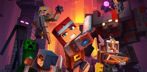 """""""Dungeons"""": hittmängu """"Minecraft"""" võidukäik jätkub märulrollika kujul"""
